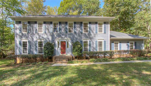 5100 Panhandle Circle, Matthews, NC 28104 (#3559204) :: Scarlett Property Group