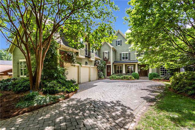 2411 Vernon Drive, Charlotte, NC 28211 (#3559690) :: High Performance Real Estate Advisors