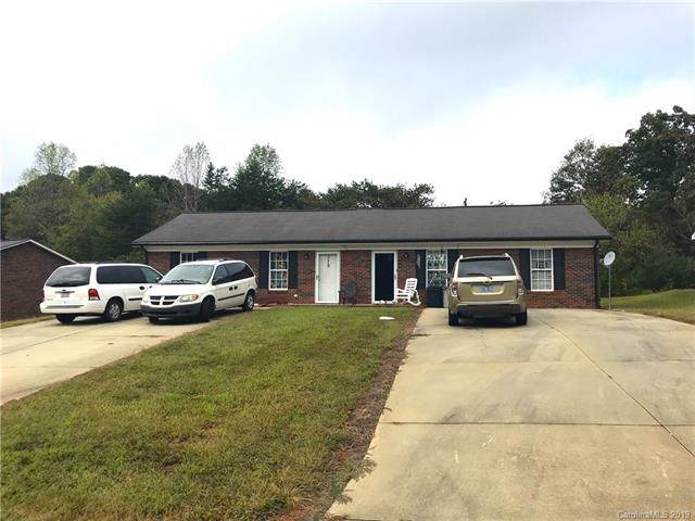 377 & 379 Turner Street, Lincolnton, NC 28092 (#3560714) :: Miller Realty Group