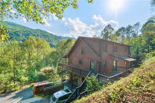149 Nicholas Lane, Maggie Valley, NC 28751 (#3561648) :: Keller Williams Professionals