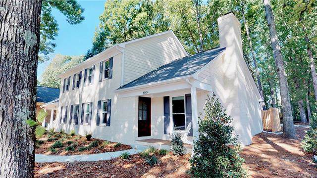 100 Beckham Court, Charlotte, NC 28211 (#3561777) :: Sellstate Select