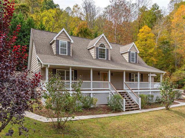 525 Campbell Mountain Drive, Waynesville, NC 28785 (#3563128) :: LePage Johnson Realty Group, LLC