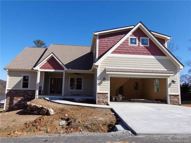 646 Blacksmith Run Drive #64, Hendersonville, NC 28792 (#3569237) :: Francis Real Estate