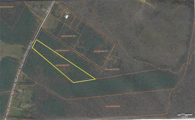 5.12 +/- Pageland White Store Road, Pageland, SC 29728 (#3569521) :: Carlyle Properties