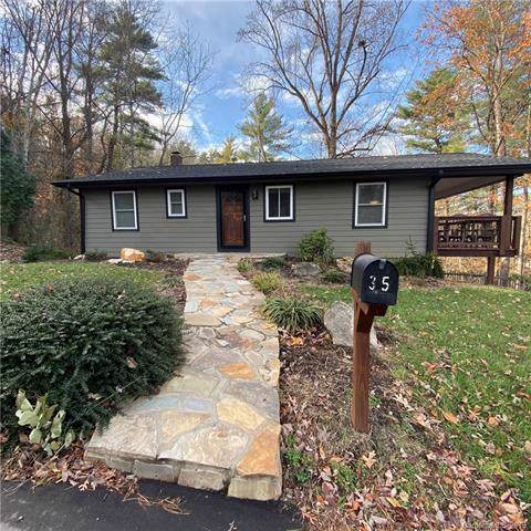 35 Leisure Mountain Road, Asheville, NC 28804 (#3570341) :: MartinGroup Properties