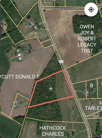 Vacant Nc Hwy 205 Highway, Oakboro, NC 28129 (#3570644) :: Stephen Cooley Real Estate Group