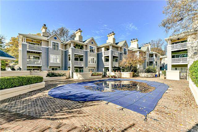 222 Queens Road #52, Charlotte, NC 28204 (#3571333) :: High Performance Real Estate Advisors