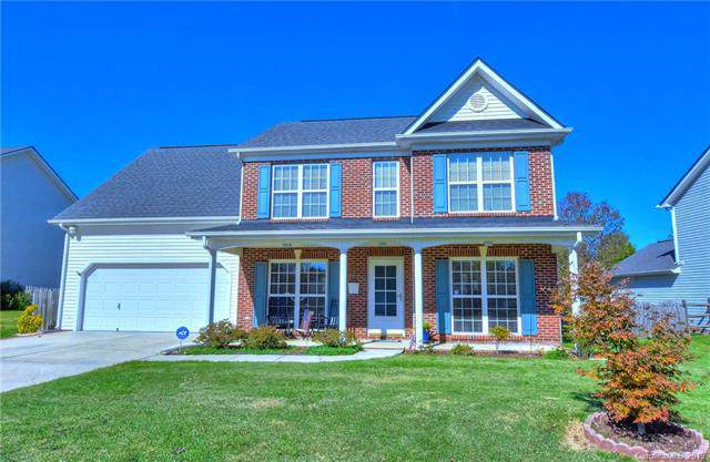 1004 Makin Drive, Indian Trail, NC 28079 (#3572523) :: Stephen Cooley Real Estate Group