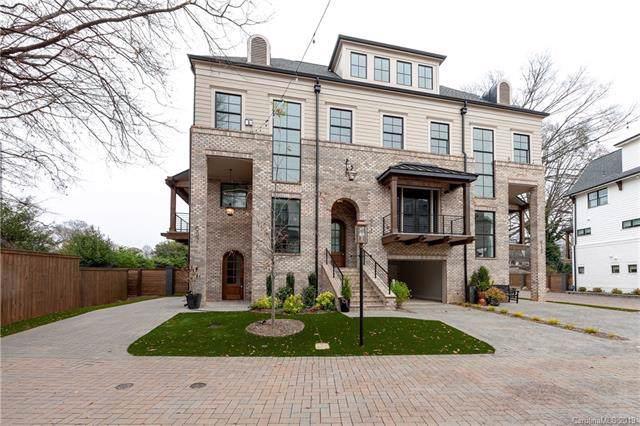 607 Mattie Rose Lane #7, Charlotte, NC 28204 (#3573993) :: Stephen Cooley Real Estate Group