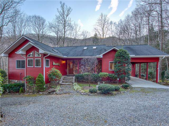 239 Winding Creek Drive, Waynesville, NC 28786 (#3574223) :: Stephen Cooley Real Estate Group