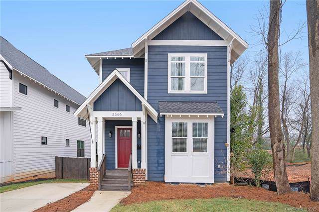 2566 Barry Street, Charlotte, NC 28205 (#3575497) :: Keller Williams South Park