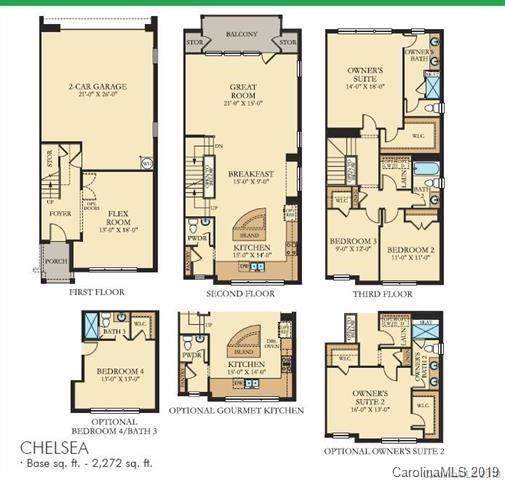 7815 Reunion Row Drive Lot 119, Charlotte, NC 28277 (#3575888) :: Stephen Cooley Real Estate Group