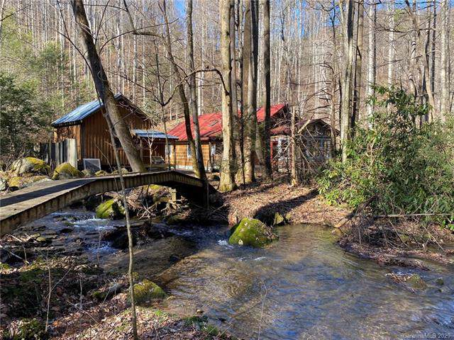 1521 Roaring Fork Road, Hot Springs, NC 28743 (#3576300) :: Keller Williams Professionals