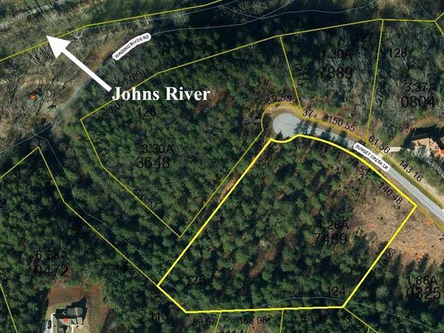Lot 125A Sunset Creek Lane 125A, Lenoir, NC 28645 (MLS #3577753) :: RE/MAX Journey