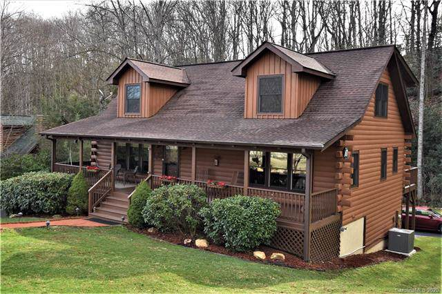 85 Cripple Creek Drive, Waynesville, NC 28785 (#3580663) :: Keller Williams Professionals