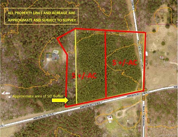 5 Acres Simpson Road, Mcconnells, SC 29726 (#3581295) :: Stephen Cooley Real Estate Group