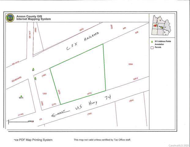 TBD Us Hwy 74 Highway, Peachland, NC 28133 (#3582560) :: Carlyle Properties