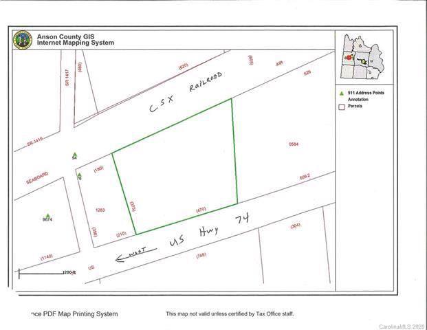 TBD Us Hwy 74 Highway, Peachland, NC 28133 (#3582560) :: Johnson Property Group - Keller Williams