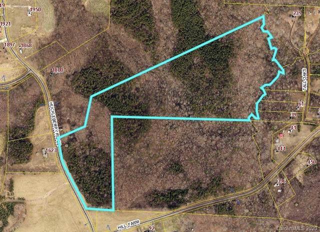 0000 Huckleberry Ridge Road, Hiddenite, NC 28636 (#3583923) :: The Andy Bovender Team