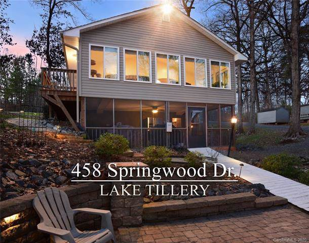 458 Springwood Drive, Mount Gilead, NC 27306 (#3584492) :: Stephen Cooley Real Estate Group