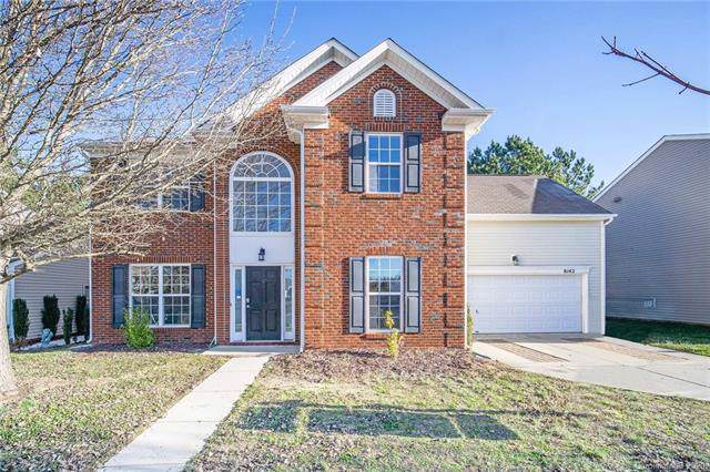 8142 Rolling Meadows Lane, Huntersville, NC 28078 (#3585677) :: Cloninger Properties