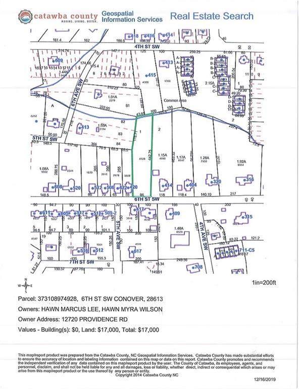 614 6th Street SW #1, Conover, NC 28613 (#3593120) :: Rinehart Realty