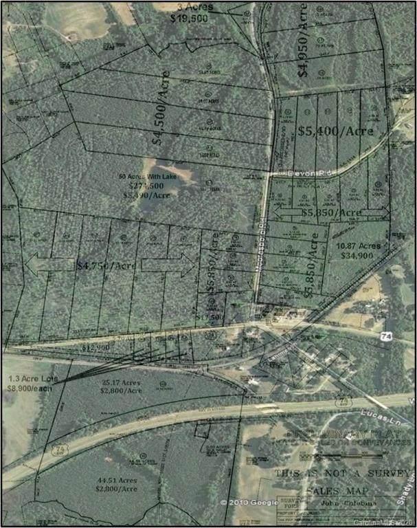 00 Mooresboro Road, Mooresboro, NC 28114 (#3594417) :: Carlyle Properties
