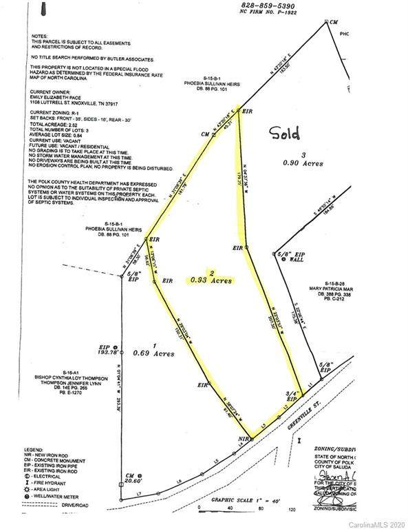 LOT 2 Greenville Street, Saluda, NC 28773 (#3597120) :: Miller Realty Group