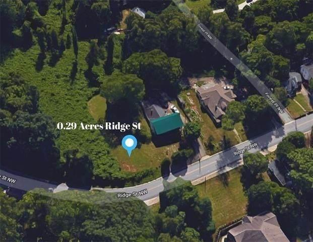 .29 acres Ridge Street, Lenoir, NC 28645 (#3600783) :: Besecker Homes Team