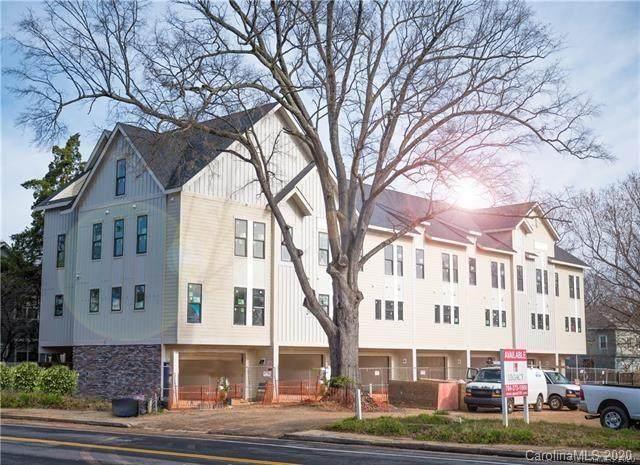 1207 E 36th Street #6, Charlotte, NC 28205 (#3606552) :: Zanthia Hastings Team