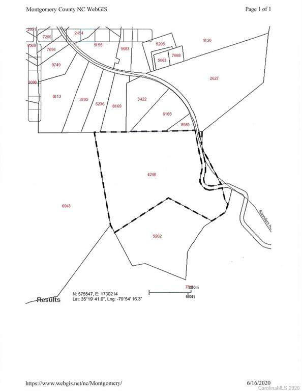 52.42 ac Saunders Road, Troy, NC 27371 (#3630579) :: Stephen Cooley Real Estate Group