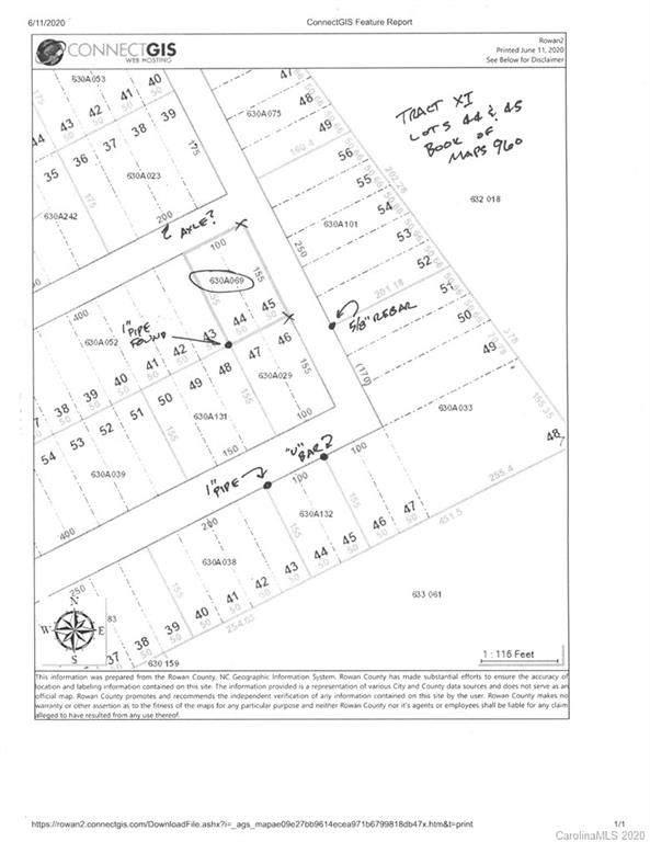 0 Dixon Drive, Salisbury, NC 28146 (#3631521) :: Carlyle Properties