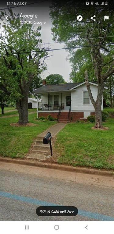 509 N Caldwell Avenue, Newton, NC 28658 (#3632236) :: Exit Realty Vistas