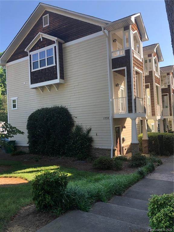 1733 Matheson Avenue H, Charlotte, NC 28205 (#3637279) :: Stephen Cooley Real Estate Group