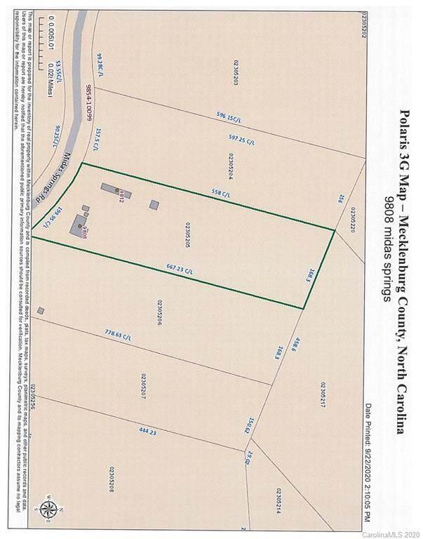 9808 Midas Springs Road, Huntersville, NC 28078 (#3665246) :: LePage Johnson Realty Group, LLC