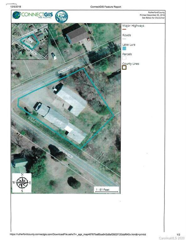 1305 Old Hwy 74 Highway, Ellenboro, NC 28040 (#3666668) :: Robert Greene Real Estate, Inc.