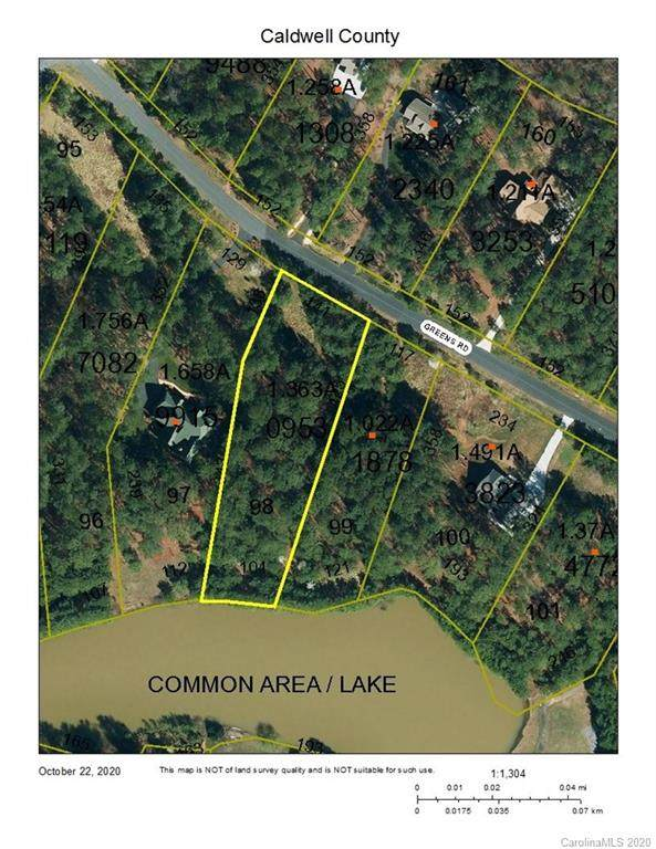 TBD Greens Road #98, Granite Falls, NC 28630 (#3673988) :: Carlyle Properties