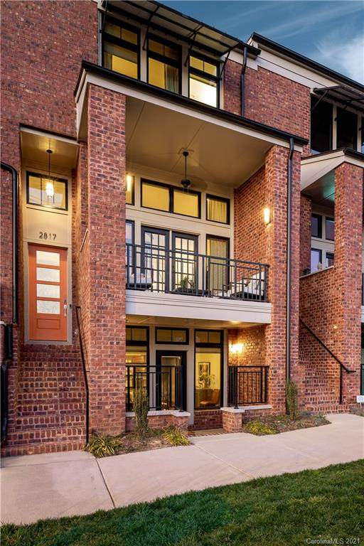 2817 N Brevard Street Unit 11, Charlotte, NC 28205 (#3697332) :: Homes Charlotte