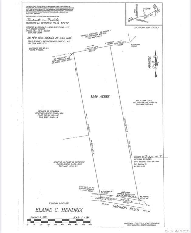 00 Sharon Road, York, SC 29745 (#3698539) :: LePage Johnson Realty Group, LLC