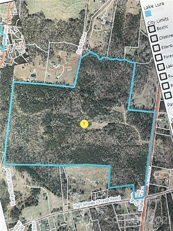 1800 Nc 120 Highway, Mooresboro, NC 28114 (#3710931) :: Home and Key Realty