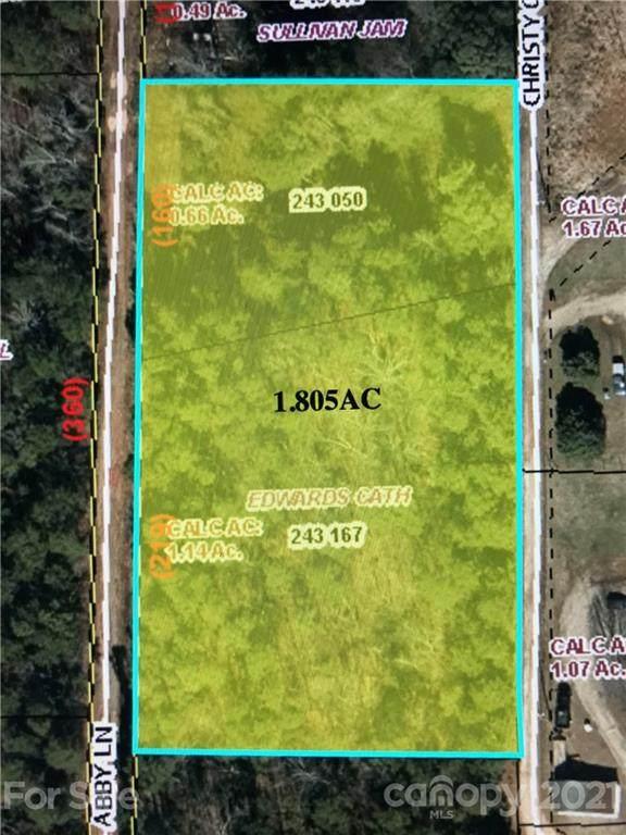 0 Abby Lane, Kannapolis, NC 28081 (#3712201) :: Mossy Oak Properties Land and Luxury