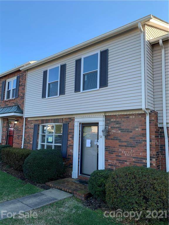 2705 N Center Street #54, Hickory, NC 28601 (#3714466) :: Scarlett Property Group