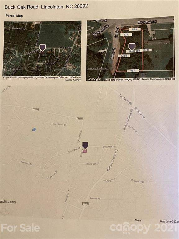 Next to 1670 Buck Oak Road, Lincolnton, NC 28092 (#3720697) :: Cloninger Properties
