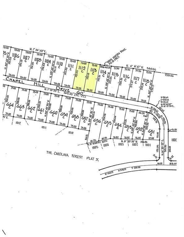 Lots 1113 & 1112 Chapel Hill Drive 1113 & 1112, Troy, NC 27371 (#3744538) :: Rhonda Wood Realty Group