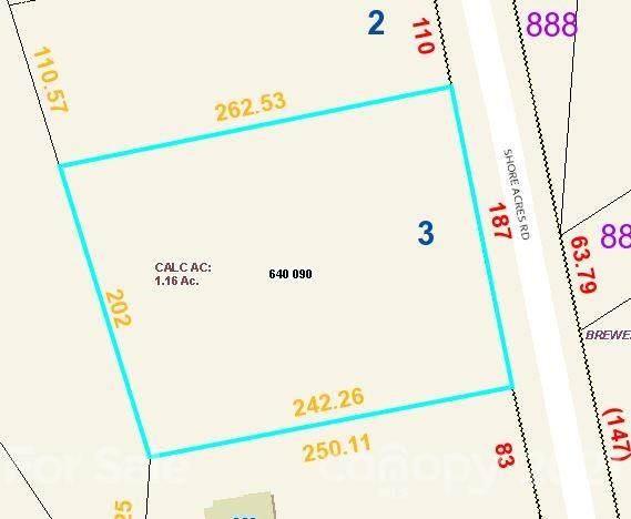 00 Shore Acres Road #3, Salisbury, NC 28146 (MLS #3755498) :: RE/MAX Journey