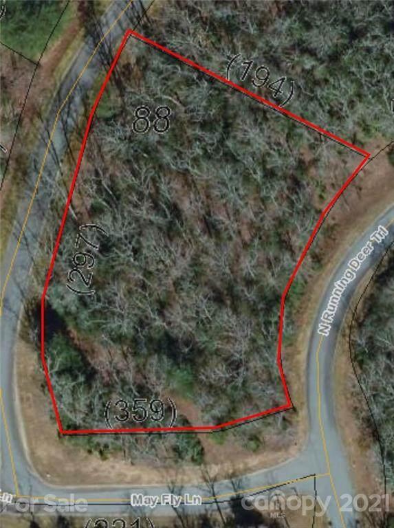 0 N Running Deer Trail #88, Horse Shoe, NC 28742 (#3760301) :: Modern Mountain Real Estate