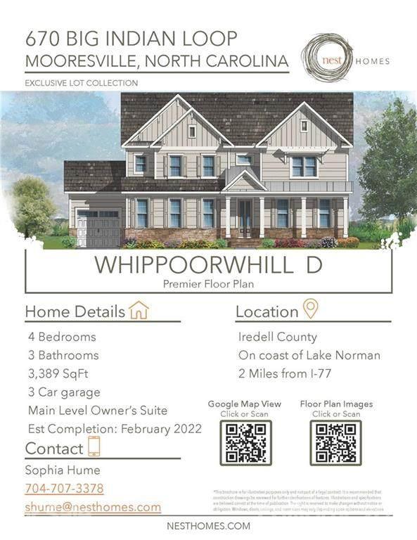 670 Big Indian Loop, Mooresville, NC 28117 (#3786802) :: DK Professionals