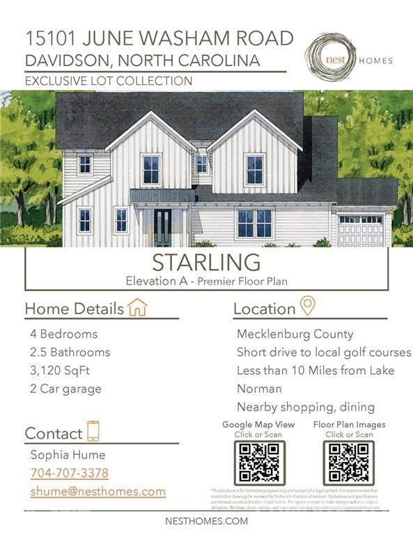 15101 June Washam Road, Davidson, NC 28036 (#3786979) :: Odell Realty