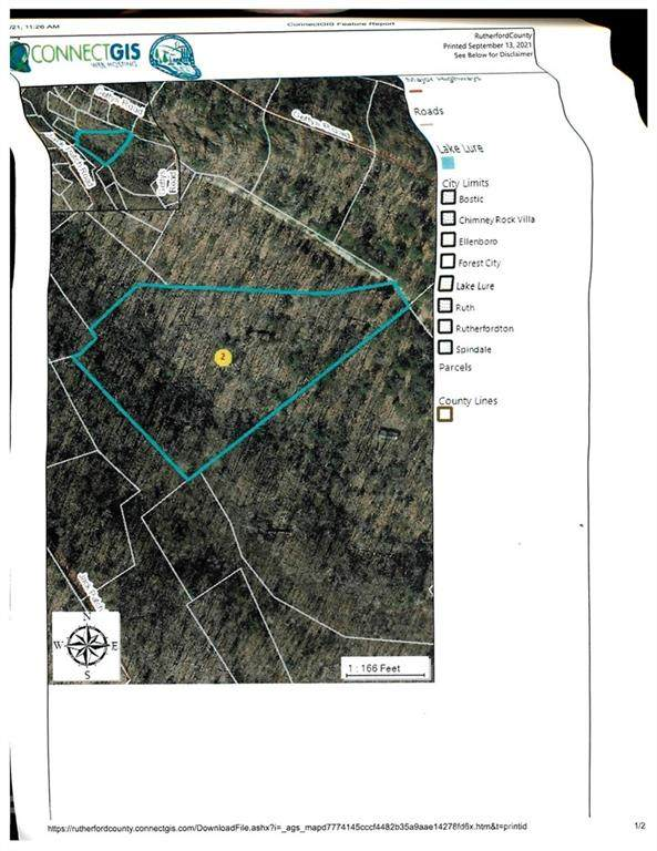 00 Gettys Road, Ellenboro, NC 28040 (#3790370) :: Scarlett Property Group