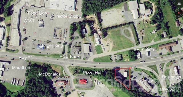 1154 E Caswell Street, Wadesboro, NC 28170 (#3795569) :: Lake Wylie Realty